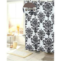 Beacon Hill Hookless Fabric Shower Curtain - Assorted Colors
