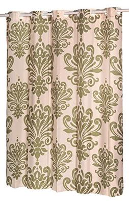 Beacon Hill Sage and Ivory EZ On Hookless Fabric Extra Wide