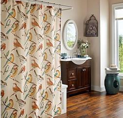 Bird fabric  SHOWER CURTAIN
