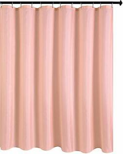 Biscaynebay Hotel Quality Fabric Shower Curtain Liners, Wate