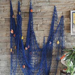 FirstDecor Blue Creative Mediterranean Style Nautical Fishin