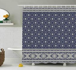Ambesonne Boho Decor Shower Curtain by, Ethnic Boho Pattern