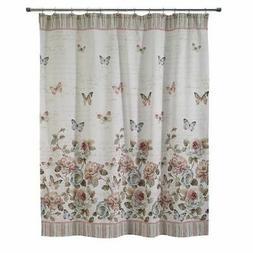Butterfly Garden Shower Curtain N/A