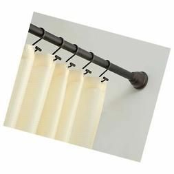 InterDesign Cameo XT Shower Curtain Tension Rod, Bronze, 26-