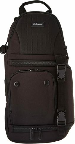 AmazonBasics Camera Sling Bag - 8 x 6 x 15 Inches, Black