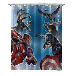 Marvel Captain America Civil War Sides of War Shower Curtain