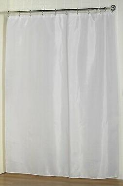 Carnation Home Extra Long 72 x 84 Inches Fabric Shower Curta