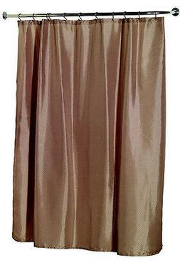 Carnation Home Fashions Lauren Fabric Shower Curtain - Assor