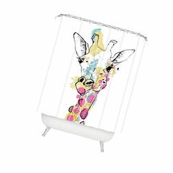 """Deny Designs Casey Rogers Giraffe Color Shower Curtain, 69"""""""