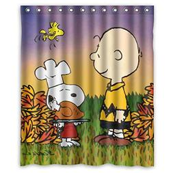 Charming Custom Happy Thanksgiving Waterproof Polyester Show
