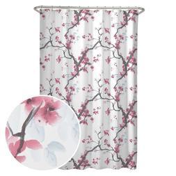 Maytex Cherrywood Fabric Shower Curtain 70 X 72 Inch  Floral