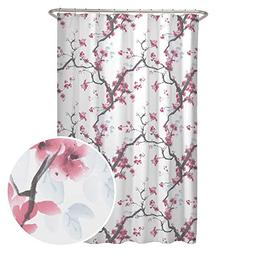 cherrywood fabric shower curtain floral