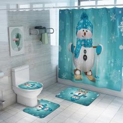 Christmas <font><b>Shower</b></font> <font><b>Curtain</b></f