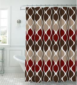 Clarisse Faux Linen Textured 70 x 72 in. Shower Curtain with
