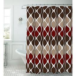 Clarisse Faux Linen Textured 70 x 72 in. Shower Curtain 12 M