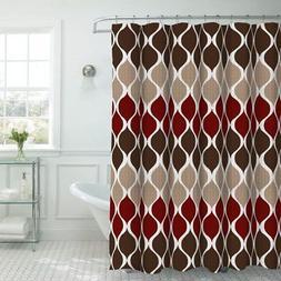 Creative Home Ideas Clarisse Faux Textured Shower Curtain