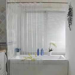 clear peva shower curtain liner