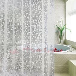 Carttiya EVA Shower Curtain Liner, Mildew Resistant Anti-Bac