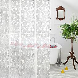 Aoohome 36x72 Inch Shower Curtain Liner Mildew Resistant, EV