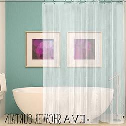Binmer Clearance,180x200 cm Bath Shower Curtain Liner Clear