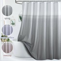 Cloth Fabric Shower Curtain Mold & Mildew Resistant Waterpro