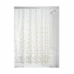 InterDesign Confetti Decorative PEVA 3G Shower Curtain Liner