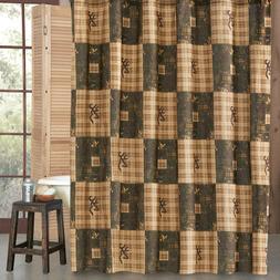 "Browning® Country Buckmark Deer Logo Shower Curtain 72"" x 7"