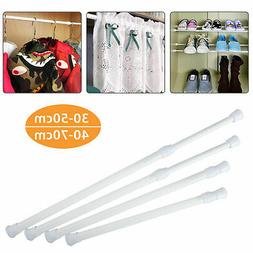 Curtain Tension Voile Net Shower Rod Extendable Telescopic S