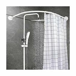 YOLOPLUS Curved Shower Rod Wall Mount Curved Bathroom Shower