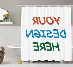 Professional Custom Shower Curtain