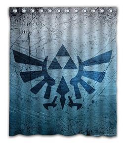 Sonaby Custom Triforce The Legend Waterproof Fabric shower c