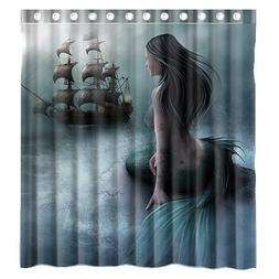 Shower Curtain Custom Unique Design Cool Old Tractor and Cut