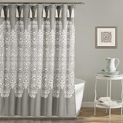 "Lush Decor Lush Décor Boho Medallion Shower Curtain, 72"" x"