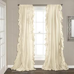"Lush Decor Lush Décor Reyna Window Curtain, Panel Pair 95"""