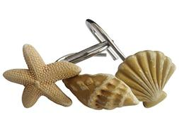 Twofishes 12 PCS Fashion Decorative Home Bathroom Sea Ocean