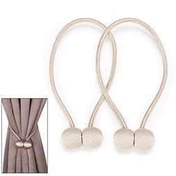 BTSKY Decorative Magnetic Curtain Tiebacks Rope - Window Tre