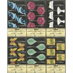 Decorative Shower Hooks - 12ct