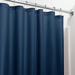 Deluxe Mildew Free Waterproof Vinyl Shower Curtain Liner - N