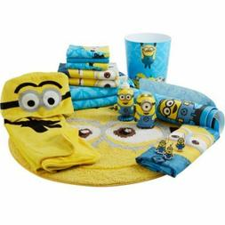 Despicable Me Minions Bathroom Accessories Shower Curtain To