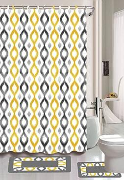 Gorgeous Home *Different Colors & Designs* 1 Shower Curtain