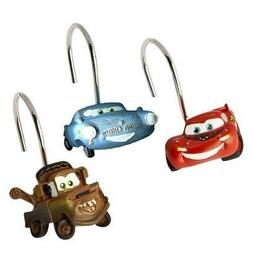 Disney/Pixar Cars Set of 12 Shower Curtain Hooks