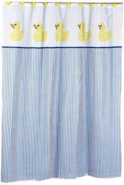 ducky polyester fabric shower curtain