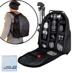 eCost BKP457 Deluxe Camera/Video Padded Backpack for SLR / D
