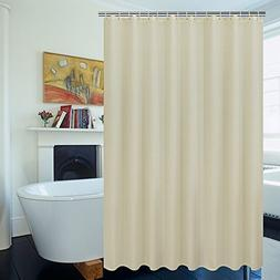 UFRIDAY Elegant Fabric Shower Curtain 100% Polyester Water P