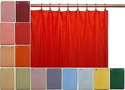 Elegant Home® Heavy Duty Vinyl Shower Curtain Liner with 12
