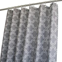 Eforgift Elegant Quatrefoil Leaf Shower Curtains Mold Resist
