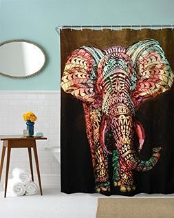 Ihome888 Elephant Shower curtain by Mimihome, Waterproof Mil