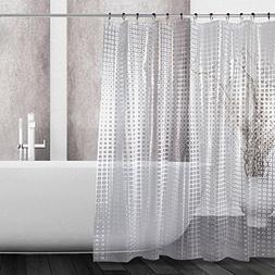 Kilokelvin EVA Shower Curtain 3D Effect Mildew Resistant Wat