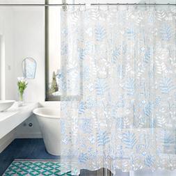 EVA Shower Curtain Liner Feagar MoldMildew Resistant Waterpro