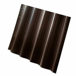 Ex-Cell Damask Stripe Fabric Shower Curtain Liner, Espresso